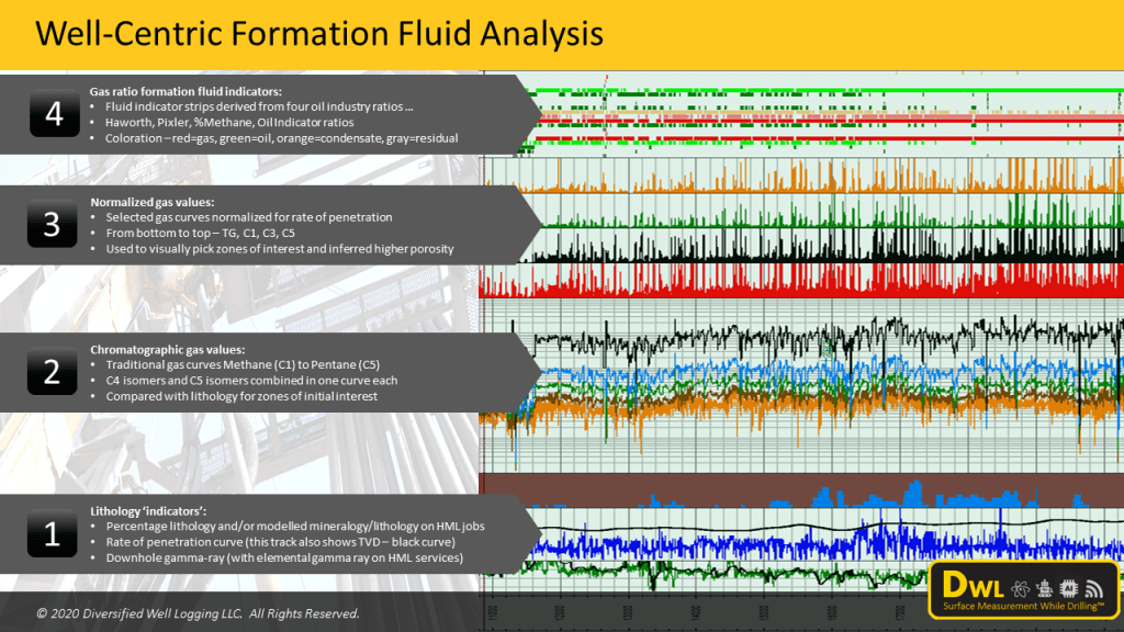well-centric gas chromatography for hydrocarbon fluid analysis
