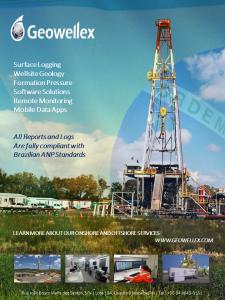 Geowellex Leading in Brazilian Wellsite Services