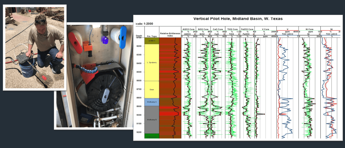 Automated remote sample catching high data density for geochemical analysis